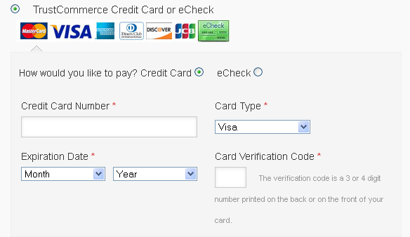 TrustCommerce Payment Gateway WooCommerce